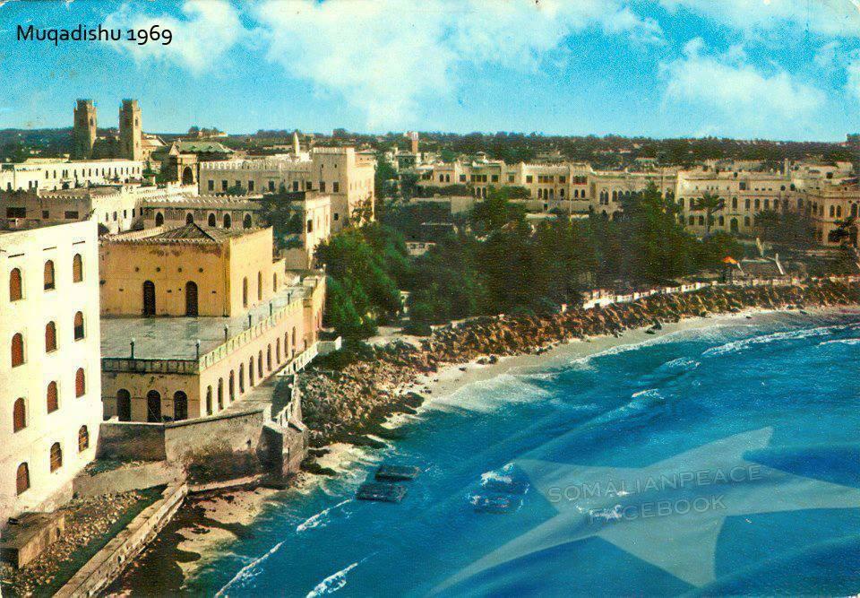В 1969 году Могадишо был туристическим центром с огромными перспективами.